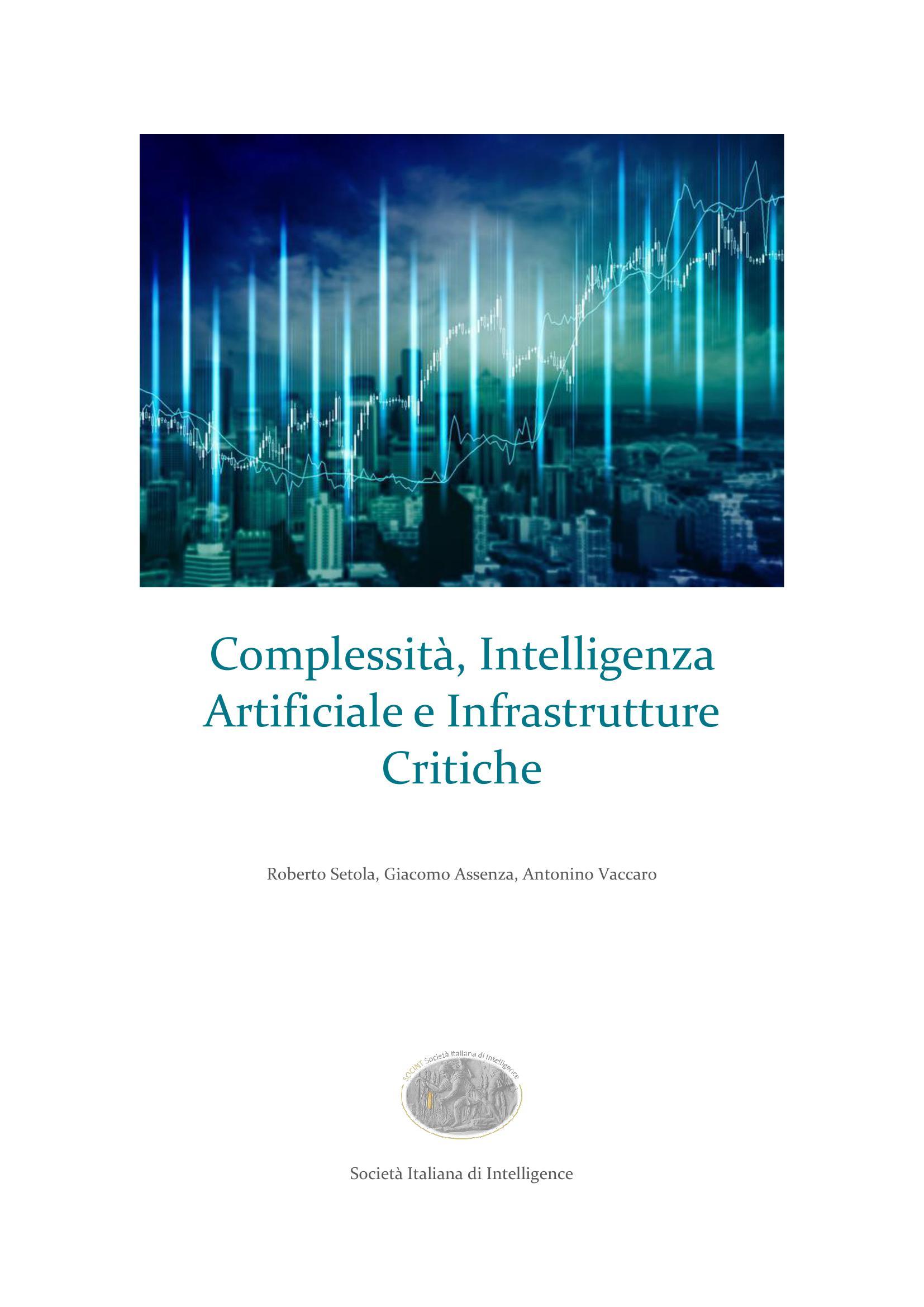 Complessità, Intelligenza Artificiale e Infrastrutture Critiche