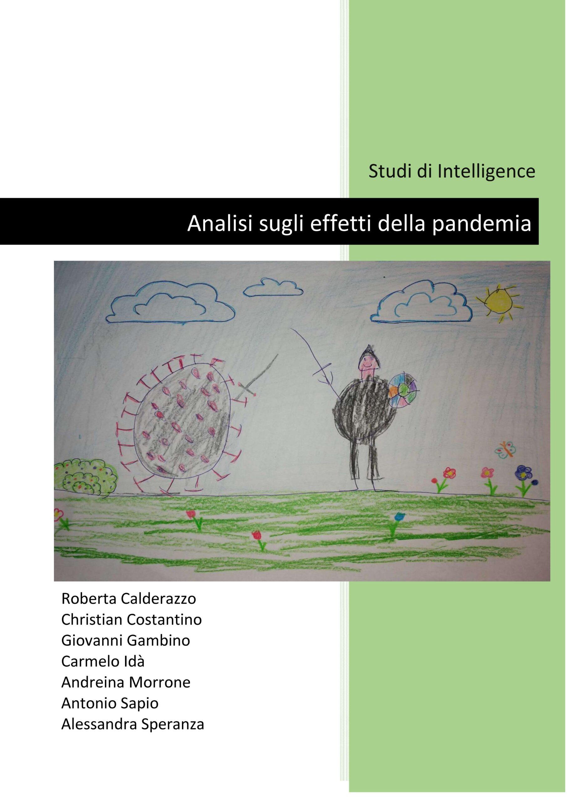 Pandemia e intelligence studies, saggio degli alumni del Master UNICAL