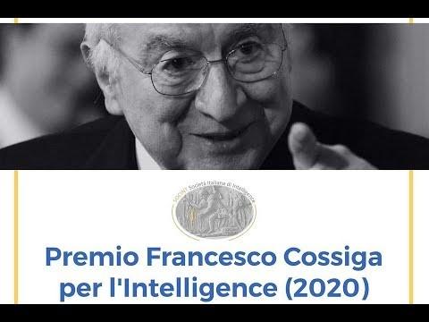 Premio Cossiga per Intelligence 2020 vincitore Carlo Mosca