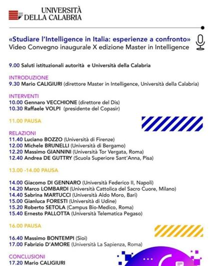 Studiare intelligence in italia esperienze a confronto