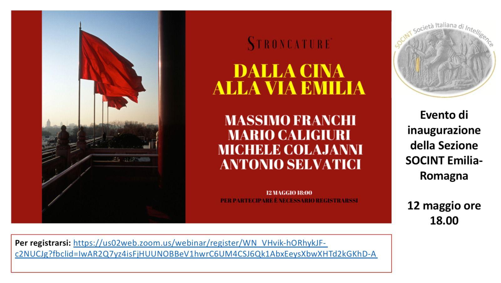 Sezione Emilia Romagna convegno inaugurale
